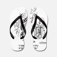 2175_lab_cartoon Flip Flops