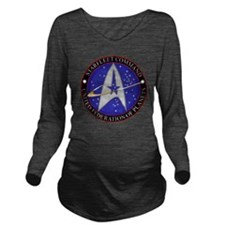 Starfleet command em Long Sleeve Maternity T-Shirt