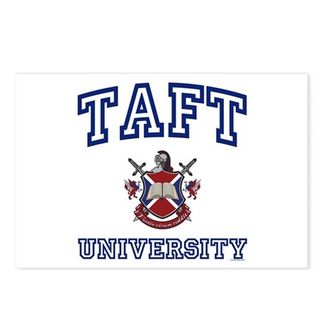 TAFT University Postcards (Package of 8)