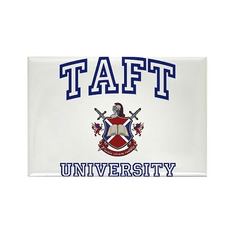 TAFT University Rectangle Magnet