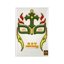 WSW REY MISTERIO HIJO MASK Rectangle Magnet