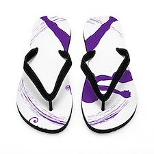 Purple, Again Flip Flops
