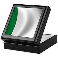 nigeria_flag Keepsake Box