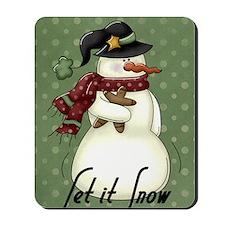 snowman1 Mousepad