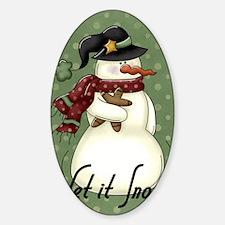 snowman1 Decal