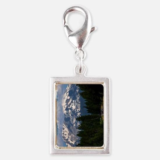 (12p) Shasta On The Road Aga Silver Portrait Charm