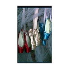 ballet shoes Bumper Stickers