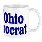 Ceramic Ohio Democrat Coffee Mug