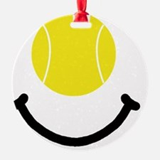 FBC Tennis Smile Black Ornament
