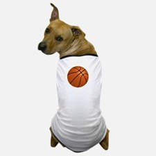 FBC Basketball Smile White Dog T-Shirt