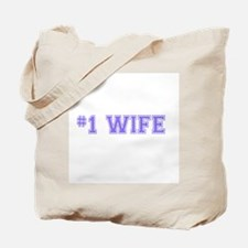 #1 Wife Tote Bag