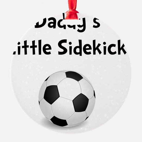 FBC Daddy Sidekick Black Ornament
