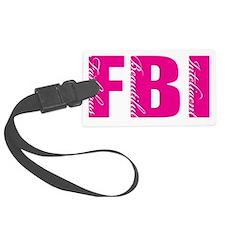 FBI FEMALE Luggage Tag