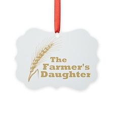 Farmers Daughter 2 Large Ornament