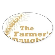 Farmers Daughter 2 Large Decal