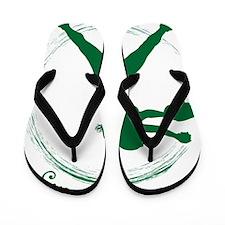 Green, Again Flip Flops
