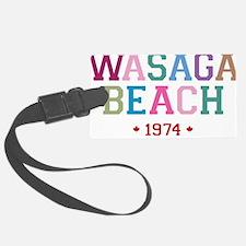Wasaga Beach 1974 B Luggage Tag