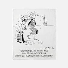 1610_environment_cartoon Throw Blanket
