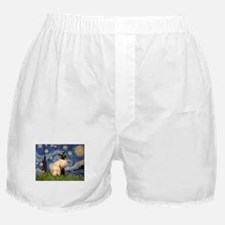 Starry Night Siamese Boxer Shorts
