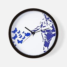 pepper-spray-blue Wall Clock
