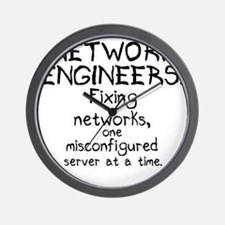 network-engineers Wall Clock