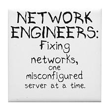 network-engineers Tile Coaster