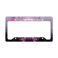 breaking dawn pink angel good License Plate Holder