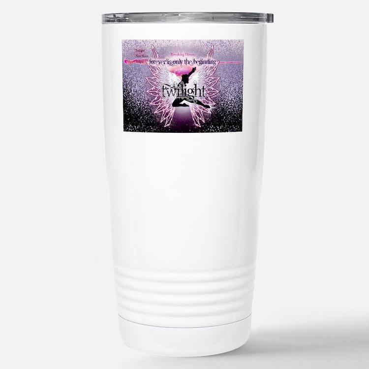 breaking dawn pink angel good c Travel Mug