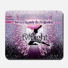 breaking dawn pink angel good copy Mousepad