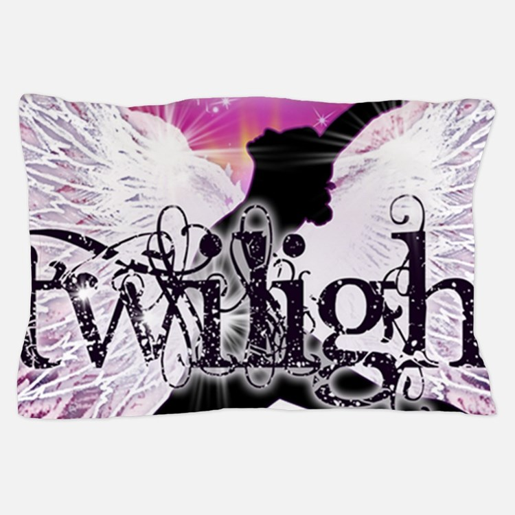 breaking dawn pink angel good copy Pillow Case