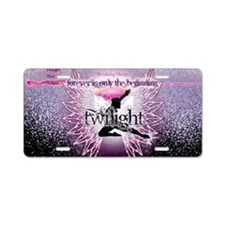 breaking dawn pink angel go Aluminum License Plate