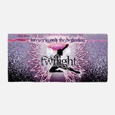 breaking dawn pink angel good copy Beach Towel