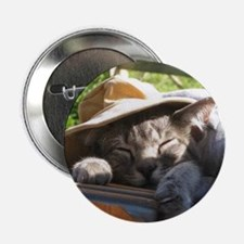 """cat in hat puzzle horizontal 2.25"""" Button"""