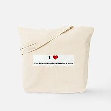 I Love Kylie Kelsey Nathan La Tote Bag