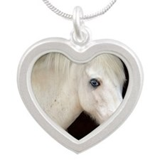 Keepsake-Logan Silver Heart Necklace