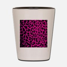 Hot Pink Lep Sleeve Shot Glass