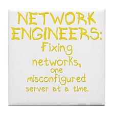 network-engineers-dk Tile Coaster