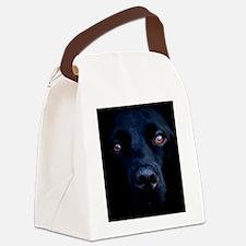 blacklab rec mag Canvas Lunch Bag