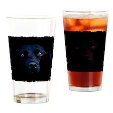 blacklab shirt Drinking Glass