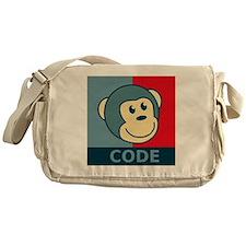 CodeMonkeyBanner2 Messenger Bag