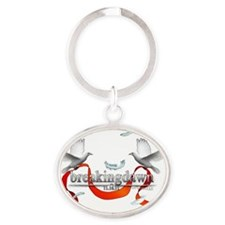 Twilight Breakingdawn White Doves to Oval Keychain