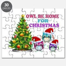 Owl Be Home For Christmas Puzzle
