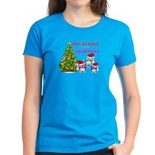 Owl Be Home For Christmas Tee