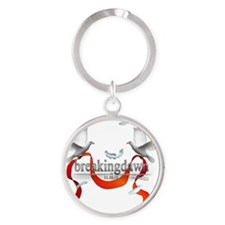 Twilight Breakingdawn White Doves K Round Keychain