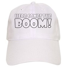 Here Comes the Boom (black) Baseball Cap