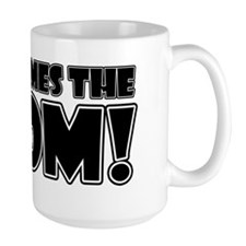 Here Comes the Boom (white) Mug