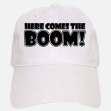 Here Comes the Boom (white) Baseball Baseball Cap