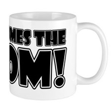 Here Comes the Boom (white) Mug