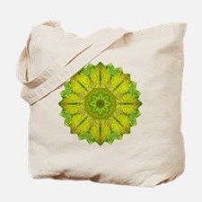 Gold Green Heart Chakra Mandala Yoga Shir Tote Bag