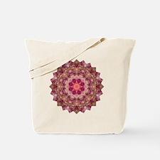 Rose Pink Yoga Mandala Shirt Tote Bag